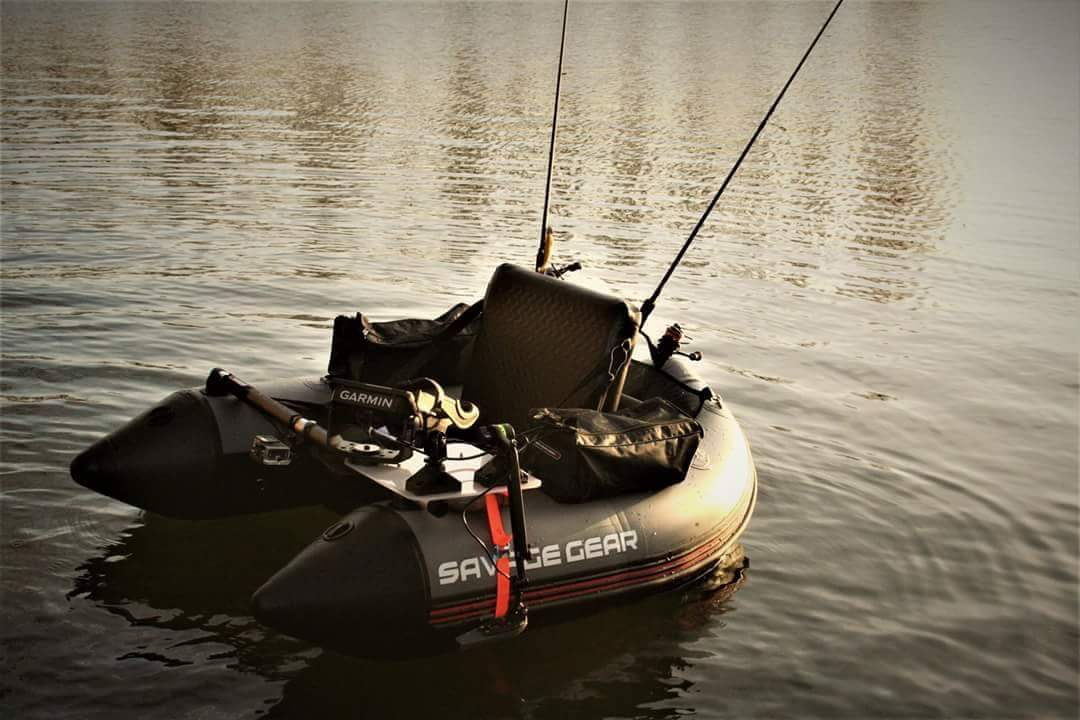 Savage gear high rider belly boat 150 for Belly boat fishing