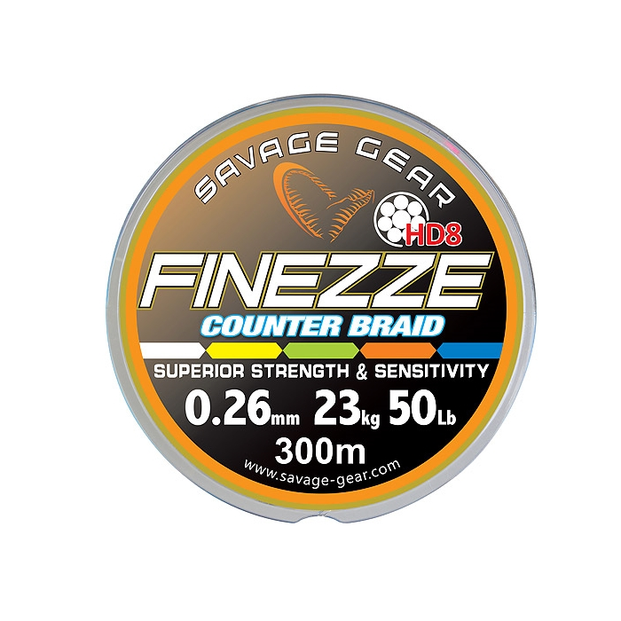 Savage Gear Finezze HD8 Counter Braid 300m