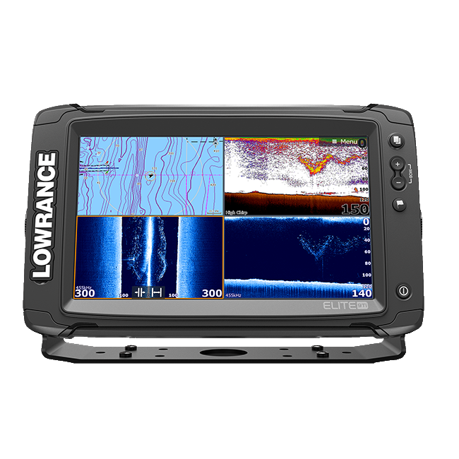 Lowrance Elite-9 Ti met Med/High/TotalScan Transducer
