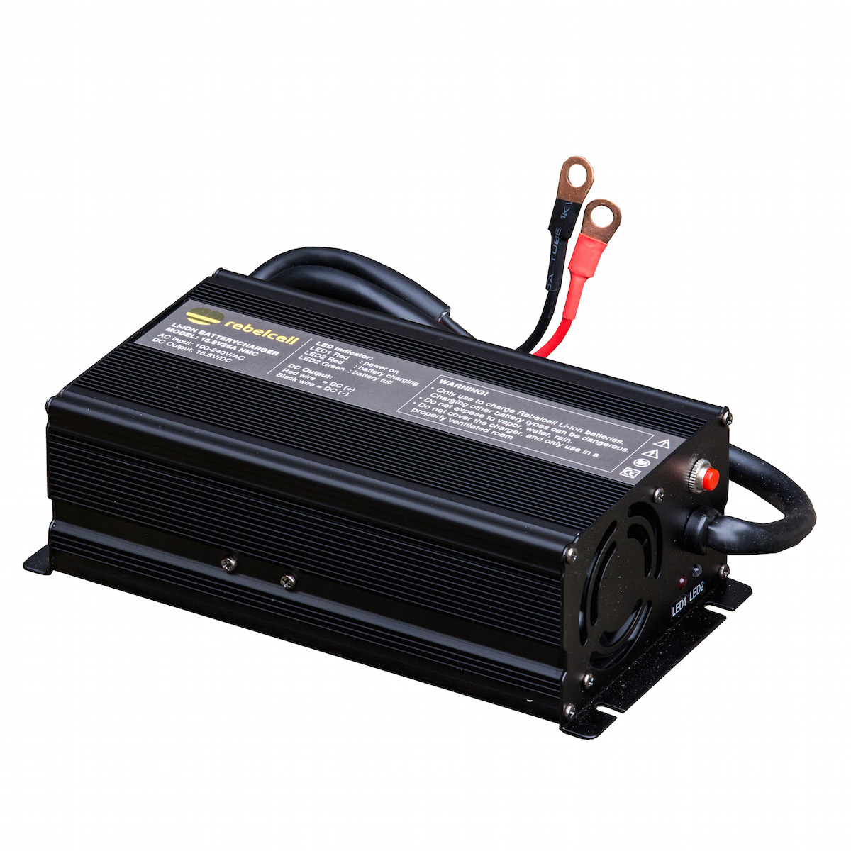 Acculader 16.8V25A Li-ion voor 12V100