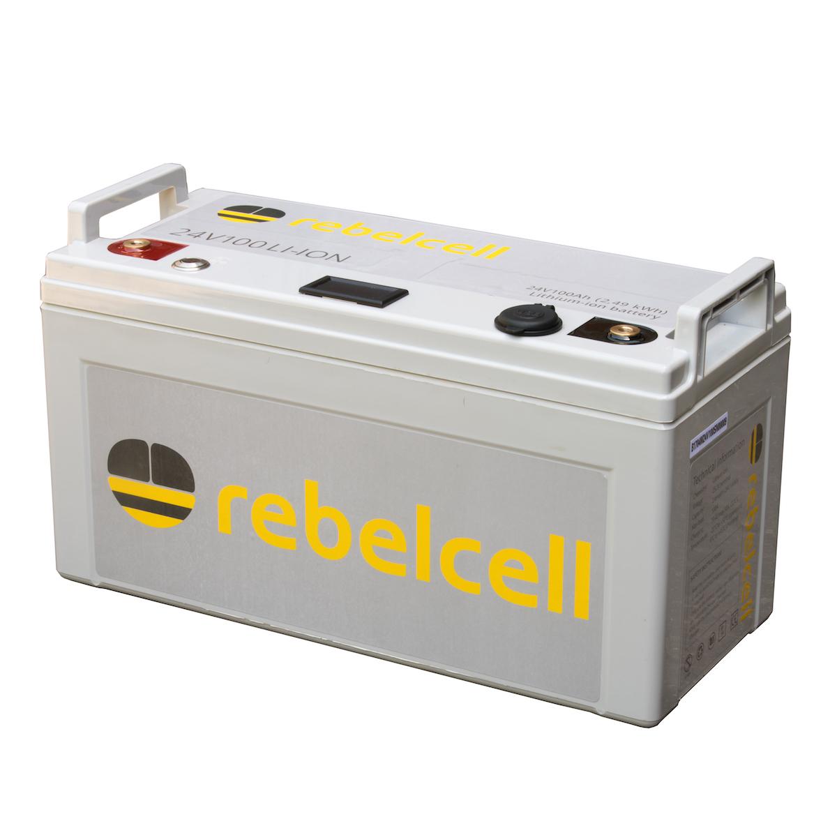Rebelcell 24V100 li-ion accu