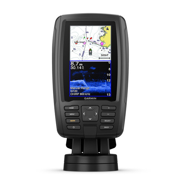 Garmin Echomap Plus 42cv met GT20-TM transducer