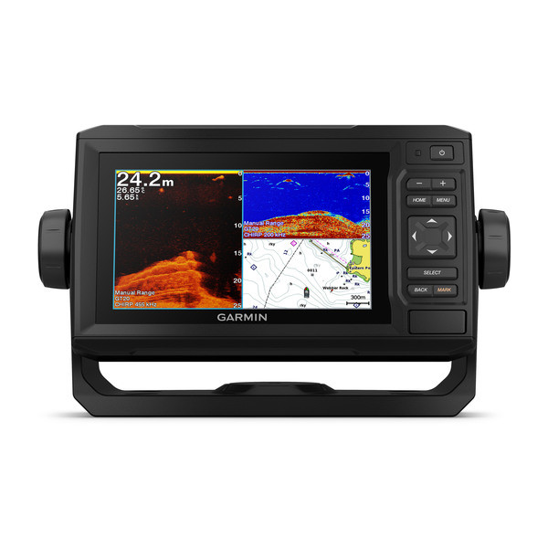 Garmin Echomap Plus 62cv met GT20-TM transducer