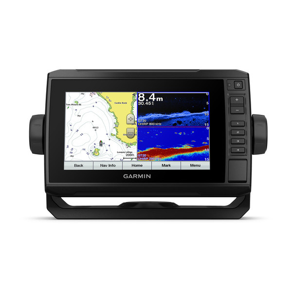Garmin Echomap Plus 72cv met GT20-TM transducer